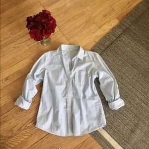 GAP Pin-Striped Button Up MEDIUM